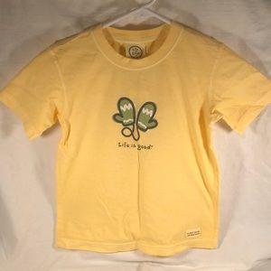 NWOT! Girls 4-7T Life is good T-shirt